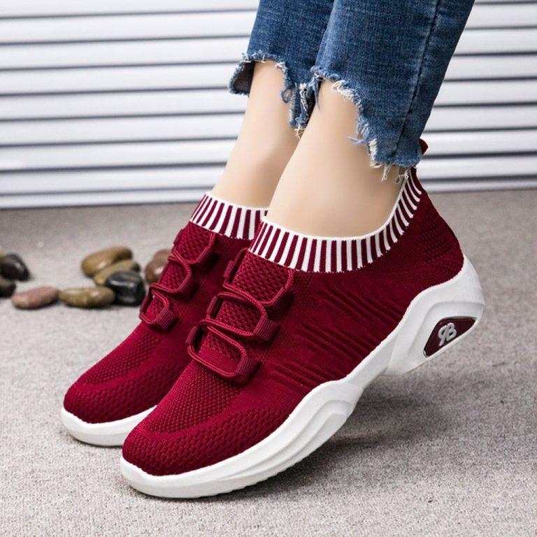 Sepatu Sneakers Casual Wanita Import - SW802